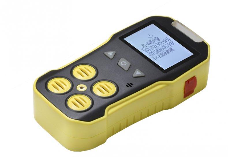 便携式四合一气体检测仪怎么做气体零点设置